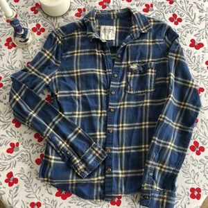 Abercrombie & Fitch Button Up Flannel